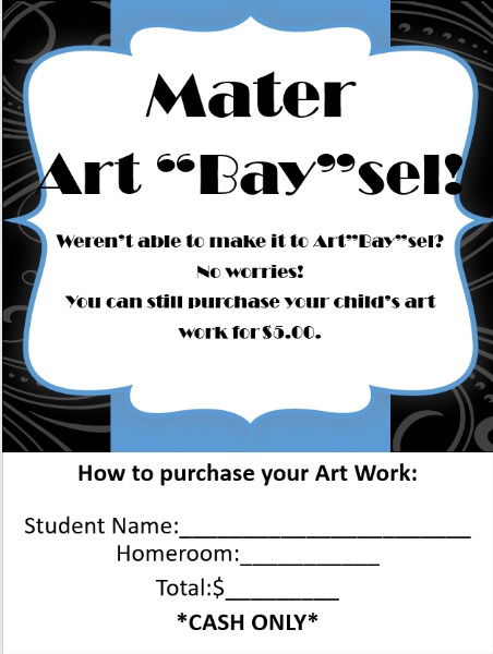 What Makes Sel Work >> Art Bay Sel Art Work News And Announcements Mater Academy Cutler Bay